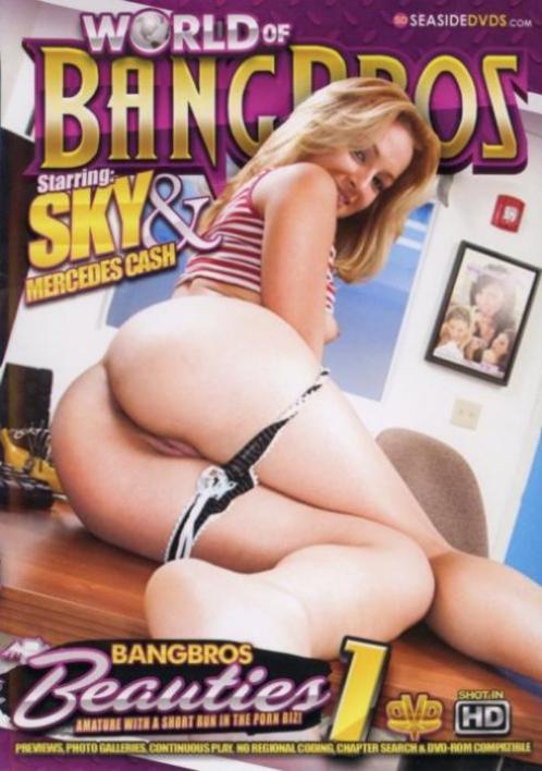 BangBros Beauties, 2017 Porn DVD, Bang Bros, Sky, Mercedes Cash, Amateur, Cumshots, Facials, Gonzo, Latin