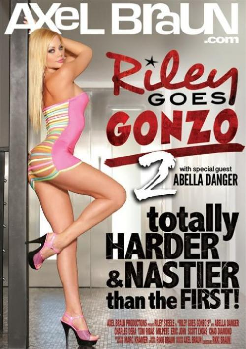 Riley Goes Gonzo 2, Axel Braun Productions, Rikki Braun, Riley Steele, Abella Danger, Charles Dera, Toni Ribas, Mr. Pete, Eric John, Scott Lyons, Chad Diamond, Blondes, Gonzo, Star showcase