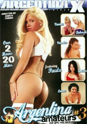 Argentina Amateurs 3 XXX DVD