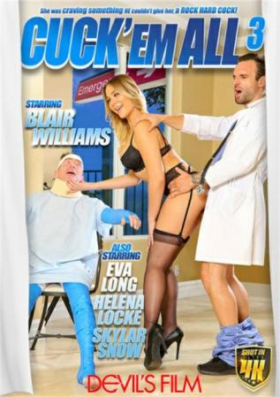 Cuck Em All 3 XXX DVD from Devil's Film