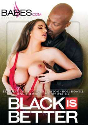 Black Is Better Adult DVD from Babes