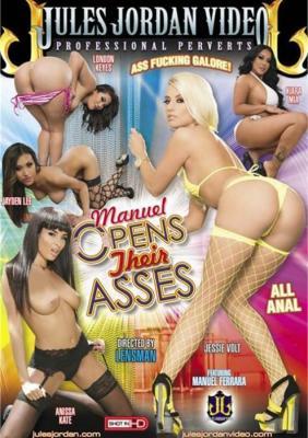 Manuel Opens Their Asses XXX DVD from Jules Jordan Video