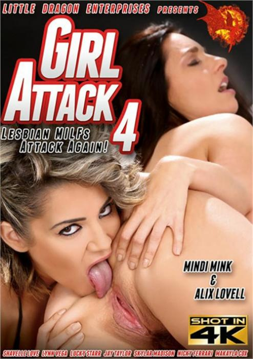 Girl Attack 4: Lesbian MILFs Attack Again! XXX DVD by Little Dragon Pictures