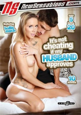 It's Not Cheating If My Husband Approves on DVD from New Sensations