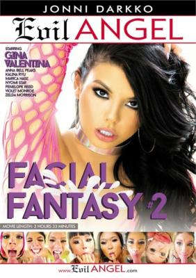 Facial Fantasy #2 XXX DVD from Evil Angel