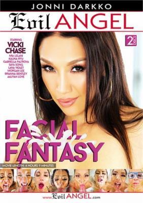 Facial Fantasy XXX DVD from Evil Angel
