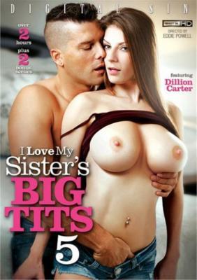 I Love My Sister's Big Tits 5 Porn DVD from Digital Sin