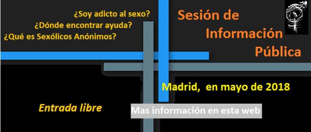Información Pública en Madrid