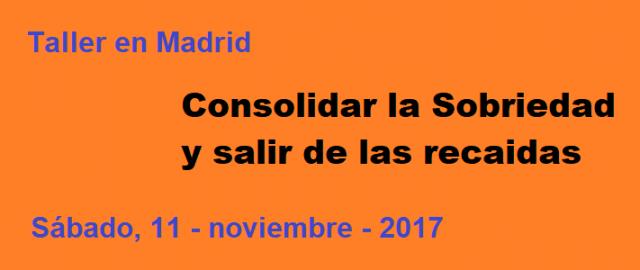 Taller de Pasos en Madrid