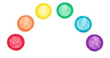 Rainbow of Condoms