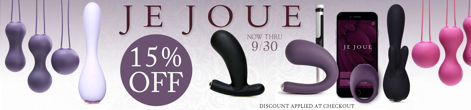 SheVibe September Sale Je Joue