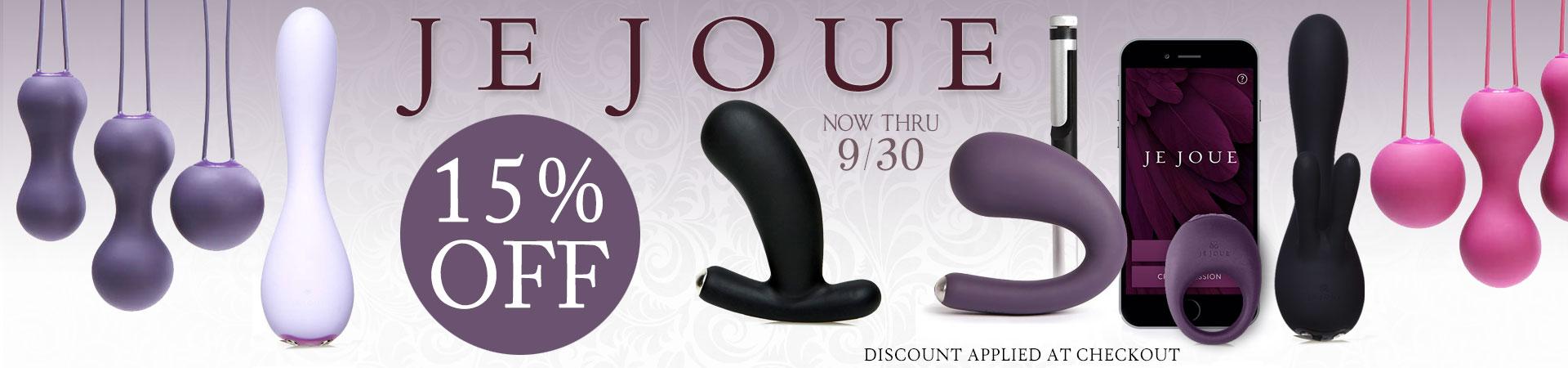 SheVibe September Sale Je Joue