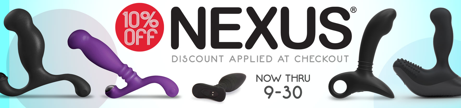 SheVibe September Sale Nexus Prostate Toys