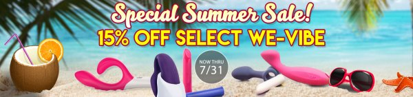 SheVibe we-vibe_summer_sale