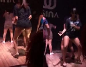 Baile funk com as amigas