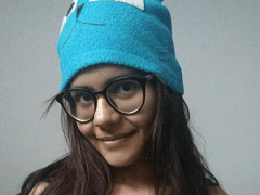Luana ninfeta gostosa na webcam