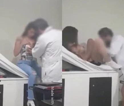 Mulher grava sexo com médico