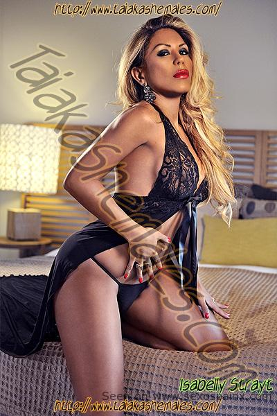 Isabelly Strayt travesti escort Independiente
