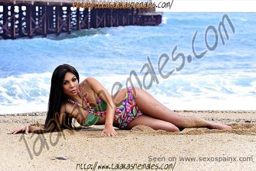 Barcelona Beach Shemale Escort Nicole Noguera