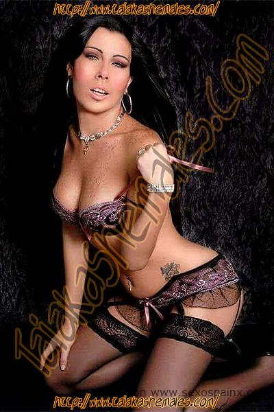 Andressa Melo, una trans muy cariñosa, guapa, femenina.