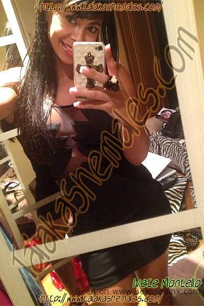 Barcelona Shemale Ivete Montello Selfie
