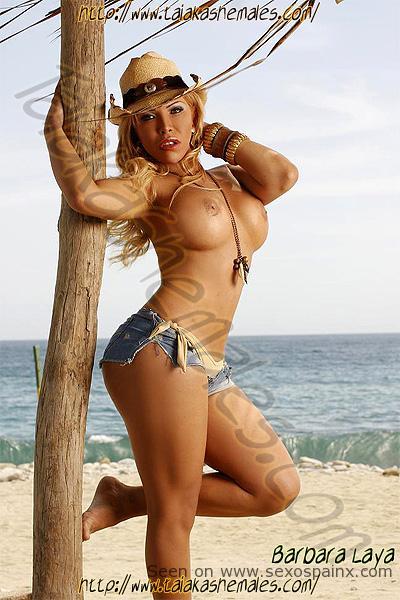 La transex Barbara Laya venezolana en Marbella