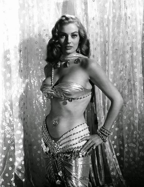 Anita Ekberg fue elegida Miss Suecia en 1950