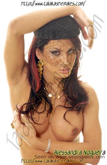 Diosa Transexual Alessandra Nogueira Travestis Barcelona