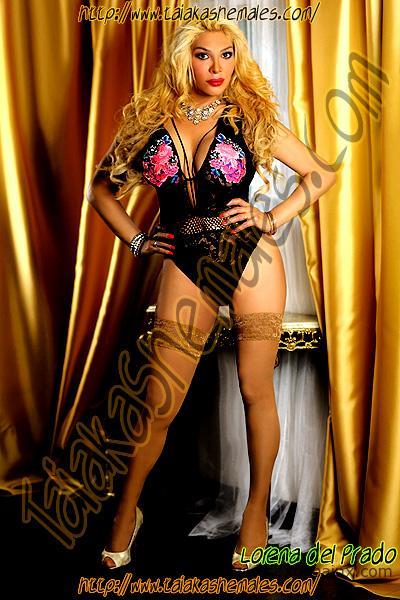 Sensual transvestites in Amsterdam with huge tits Lorena del Prado Blond transvestites