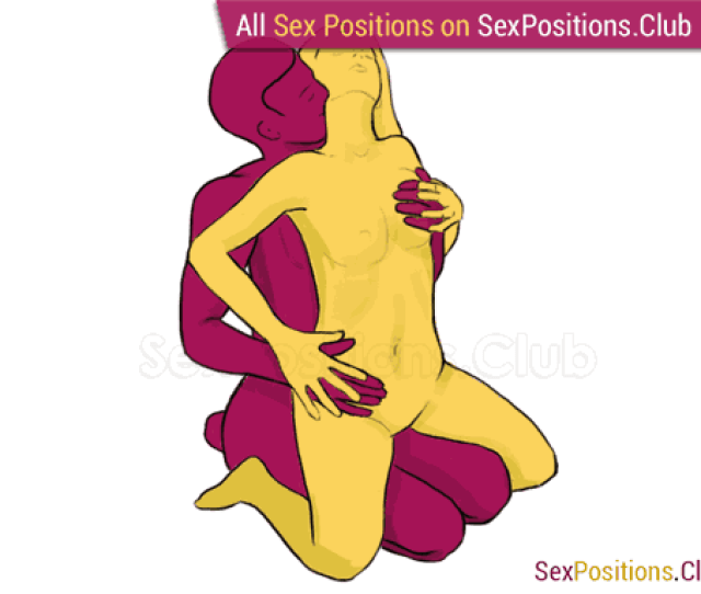 Sex Position 128 Lap Dance From Behind Sitting Woman On