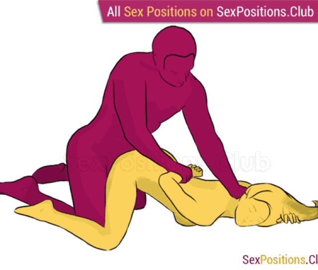 Sex Position 230 Downward Dog Doggy Style From Behind Kneeling