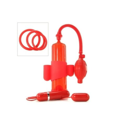 MACK TUFF VIBRATING STEELMAKER – RED