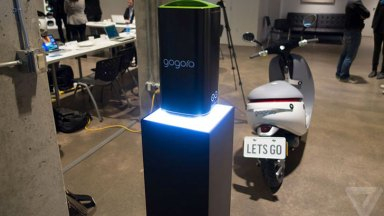 CES 2015: Gogoro's Sexy Smartscooter