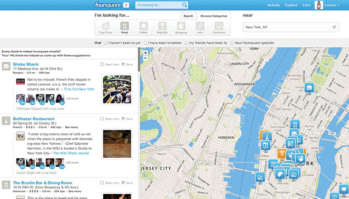 Why The New Foursquare Is Great For Travellers
