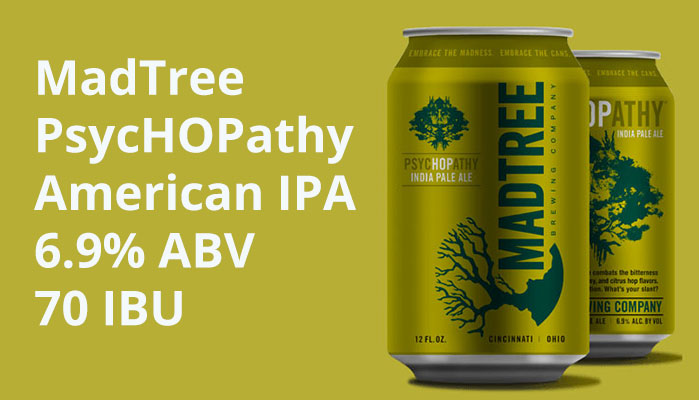 "Henry Deltoid's Beer Review: MadTree ""PsycHOPathy"""