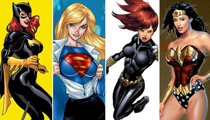 hottest_superheroes