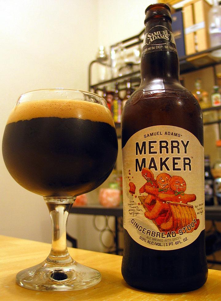 Henry Deltoid's Beer Review: Samuel Adams Merry Maker