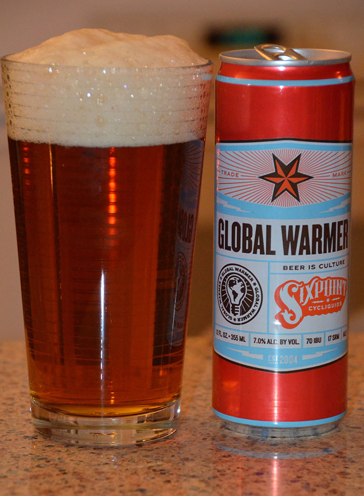Henry Deltoid's Beer Review: Sixpoint Global Warmer