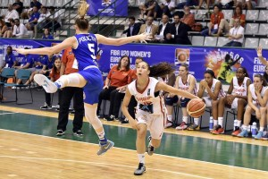 Laia Flores / Foto vía FIBA