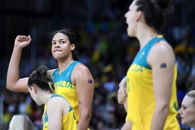 Cambage | Foto vía: FIBA