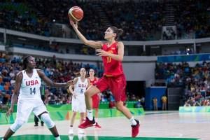 Marta Xargay | Foto vía: FIBA