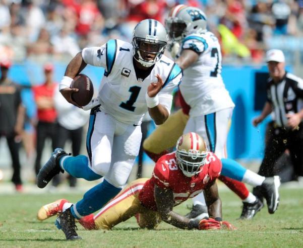 QB Newton tuvo una destacada actuación (foto: nfl.com)