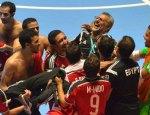 Egipto celebra el pase a cuartos