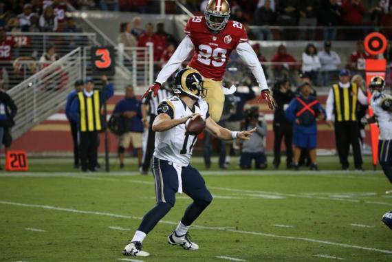 La defensiva Gambusina dejo en 0 a su rival divisional foto:http://www.49ers.com/