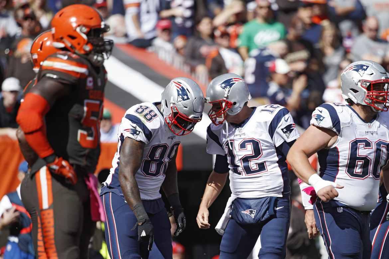 FÚTBOL AMERICANO - Brady volvió para aplastar a los Browns en Cleveland