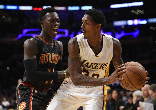 Lou Williams fue el mejor de los Lakers (Foto: Kelvin Kuo-USA TODAY Sports)