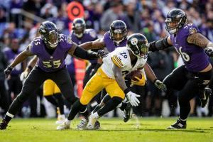 La defensiva de Baltimore supo contener a la ofensiva de Pittsburgh (baltimoreravens.com)