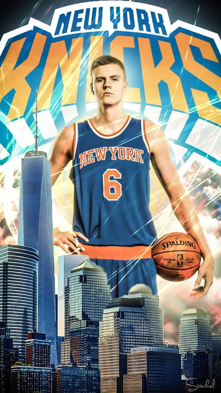 Porzingis, una de las grandes atracciones de los New York Knicks. Fuente: