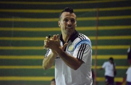 Aplaudiendo durante un entrenamiento