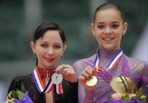 Elizaveta Tuktamysheva y Adelina Sotnikova